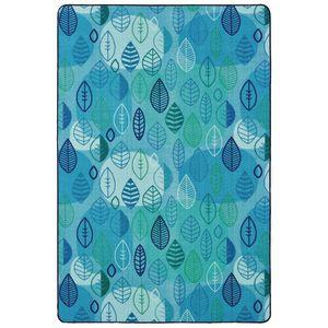 Peaceful Spaces Leaf 8' x 12' Rectangle Pixel Perfect Carpet