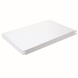 "Construction Paper, Bright White, 12"" x 18"", 200 Sheets"