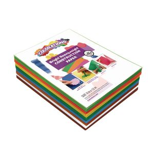 COLORS OF NATURE CONSTRUCTION PAPER, 8 COLORS, 400 SHEETS