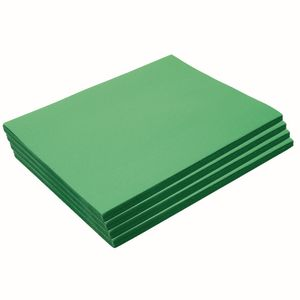 "Heavyweight Holiday Green Construction Paper, 9"" x 12"", 200 Sheets"
