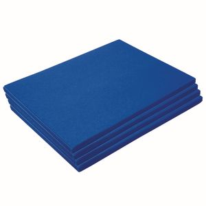 Heavyweight Bright Blue Construction Paper, 9
