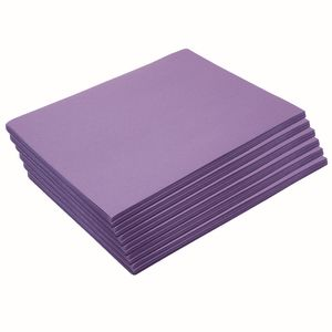 Heavyweight Violet Construction Paper, 9