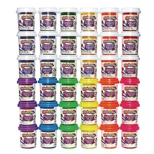 Colorations® 36 Pots of Dough, 12 Colors, 6 Scented