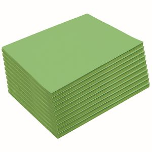 Heavyweight Bright Green Construction Paper, 9