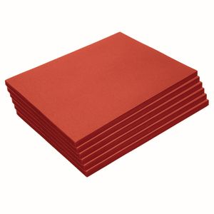 "Heavyweight Red Construction Paper, 9"" x 12"", 300 Sheets"