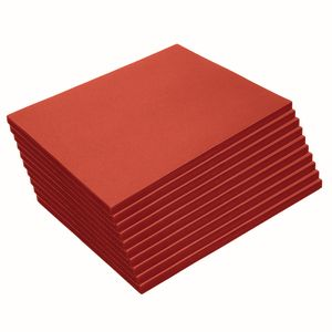 Heavyweight Red Construction Paper, 9