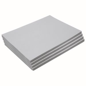 "Heavyweight Gray Construction Paper, 9"" x 12"", 200 Sheets"