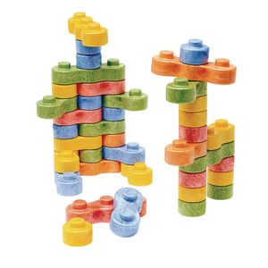 8BLOCK Construction Blocks - Set of 80