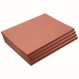 "Heavyweight Brown Construction Paper, 9"" x 12"", 200 Sheets"