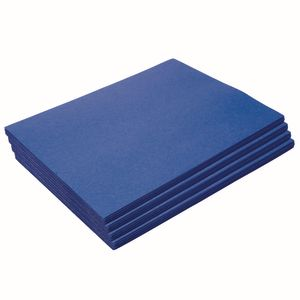 "Heavyweight Dark Blue Construction Paper, 9"" x 12"", 200 Sheets"