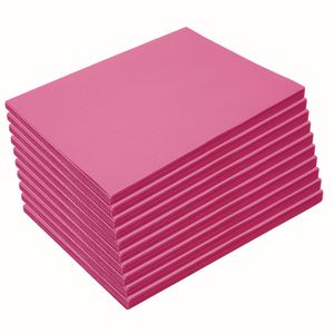 Heavyweight Hot Pink Construction Paper, 9