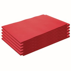 "Colorations® Construction Paper, Holiday Red, 12"" x 18"", 500 Sheets"