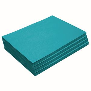 "Heavyweight Turquoise Construction Paper, 9"" x 12"", 200 Sheets"
