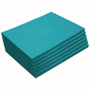 Heavyweight Turquoise Construction Paper, 9