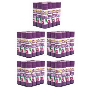 60 Colorations® Best-Value Washable Purple Glue Sticks, Large (.88 oz.)