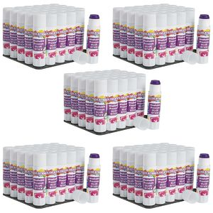 Colorations® Washable Premium Purple Glue Sticks, Set of 150, 0.32 oz ea