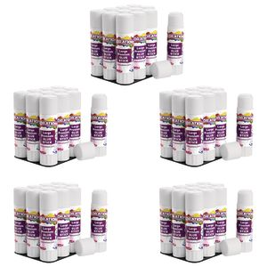 Colorations® Premium Washable White Glue Sticks in a Tray, set of 60, 0.88 oz ea