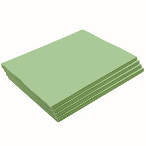 Heavyweight Light Green Construction Paper, 9