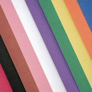 Assorted Colors of Construction Paper, 9