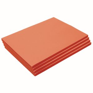 "Heavyweight Orange Construction Paper, 9"" x 12"", 200 Sheets"