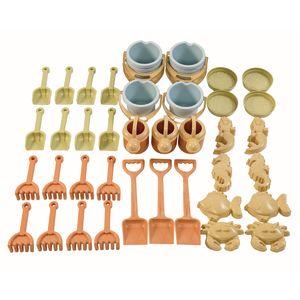 Eco-Friendly Mega Sand Toy Set 42-Pieces