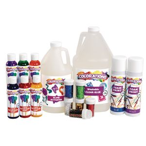 Classroom Pack Colorful, Puffy, Glitter Slime Kit