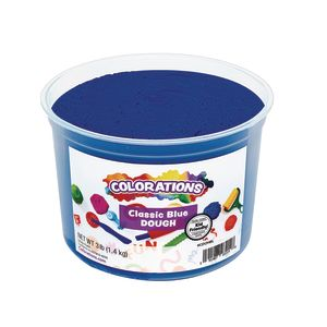 Colorations® Classic Colors Best Value Dough - Blue - 3 lbs.
