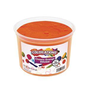 Colorations® Classic Colors Best Value Dough - Orange - 3 lbs.