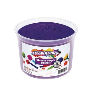 Colorations® Classic Colors Best Value Dough - Purple - 3 lbs.