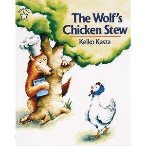 The Wolf's Chicken Stew Paperback Book