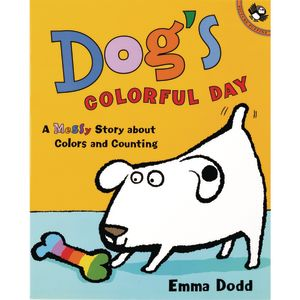 Dog's Colorful Day Paperback Book