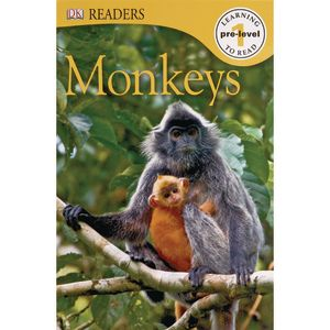 DK Readers L0: Monkeys Paperback book