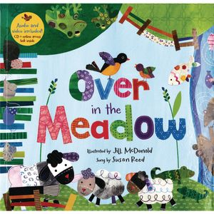 Over in the Meadow Paperback Book