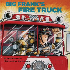 Big Frank's Fire Truck Paperback book