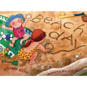 Beach Day Hardcover Book