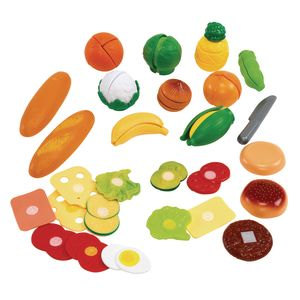 Cut and Play Mega Food Set of 53 Pieces