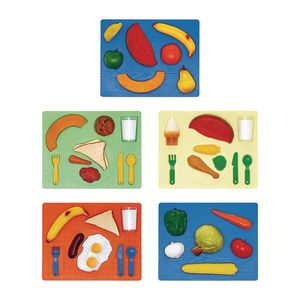 3D Chunky Food Puzzles Set of All 5
