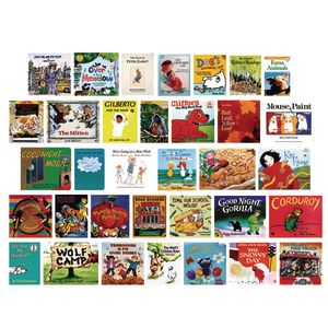 2 Year Old Book Bundle C - 34 Titles