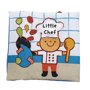 Little Chef Cloth Book