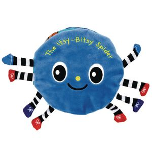 Itsy-Bitsy Spider Cloth Book