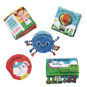 Melissa & Doug Cloth Book Set of 6