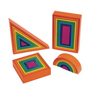 Rainbow Architect Block Set