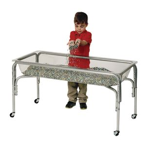 Regular Height Clear Sand and Water Table- 24
