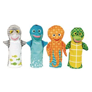 Sealife Friends Puppets Set of 4