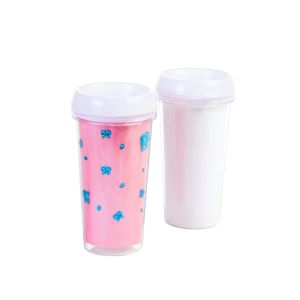 Decorate Your Own Travel Mugs, Set of 12