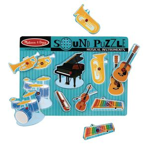 Sound Puzzle - Musical Instruments