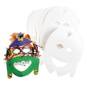 Tribal Cardstock Masks - Set of 20