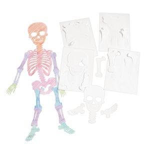 STEAM Jumbo Size Skeletons, Set of 12