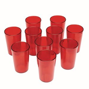5 oz. Red Tumbler- Set of 10