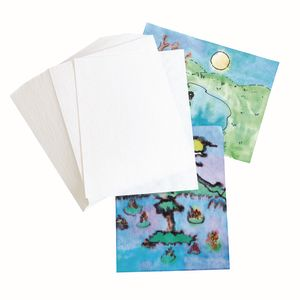 Blot Diffusing Watercolor Paper, set of 100 paper sheets